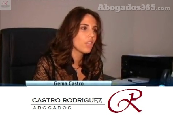La abogada Gema Castro Rodríguez en una intervención televisiva.