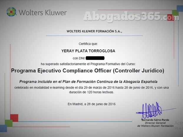Programa ejecutivo compliance officer